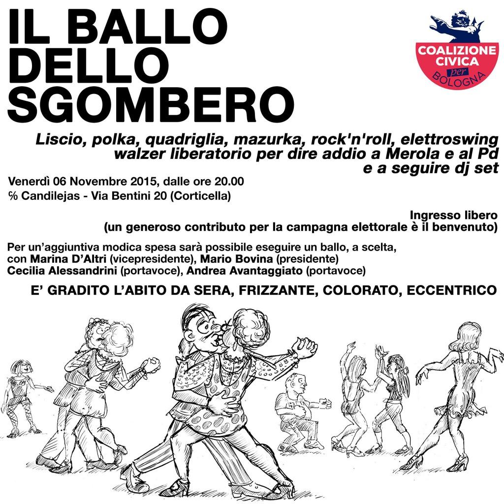 Il ballo dello sgombero - Coalizione Civica Bologna