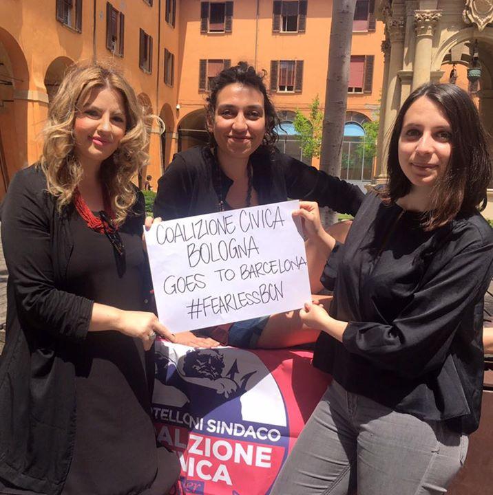 """Coalizione Civica va a Barcellona per """"Fearless Cities"""""""
