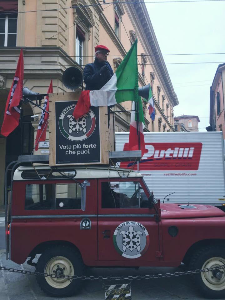 A Berselli e Forza Nuova rispondiamo: mai più fascismo nella nostra città!