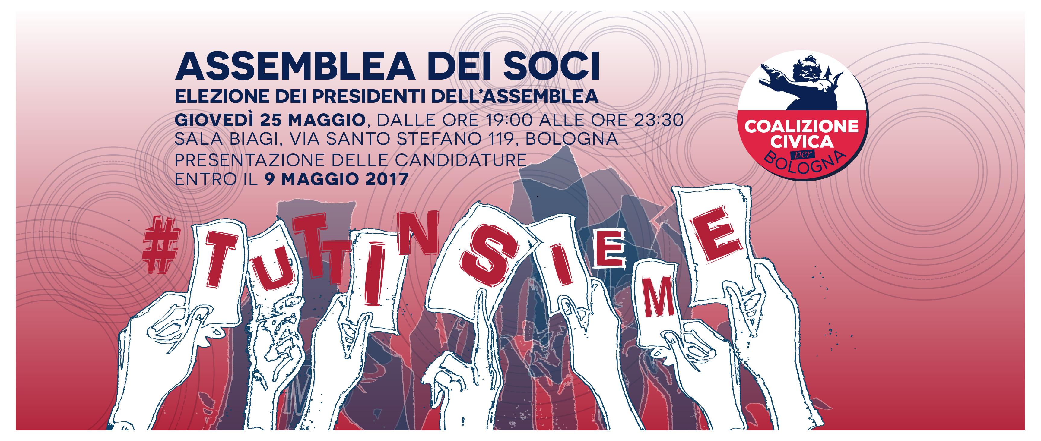 Le candidature per la copresidenza dell'assemblea di Coalizione Civica