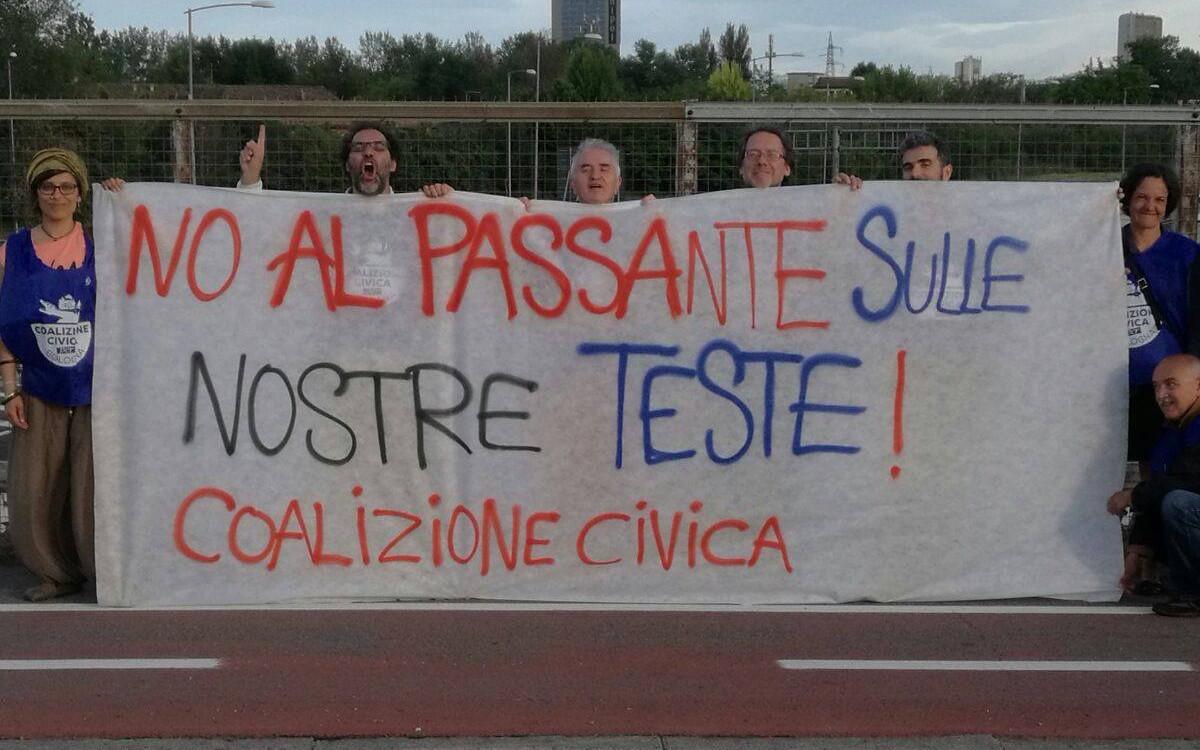 Passante di Bologna: da sempre il nostro è un NO. Si ascoltino i territori.