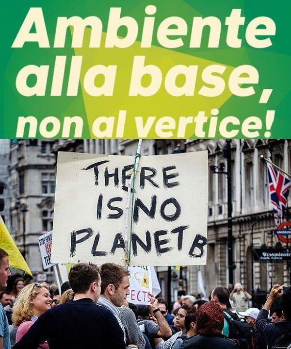 No Planet B! L'ambiente alla base del nostro futuro. Assemblea regionale 23 Maggio e intervista a Basile