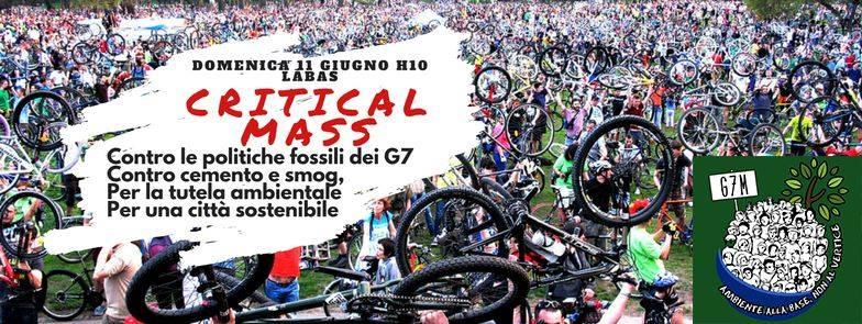 11 Giugno: Critical Mass per l'Ambiente