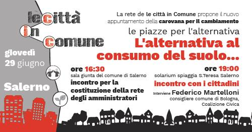 Le piazze dell'Alternativa – Salerno #tappa5