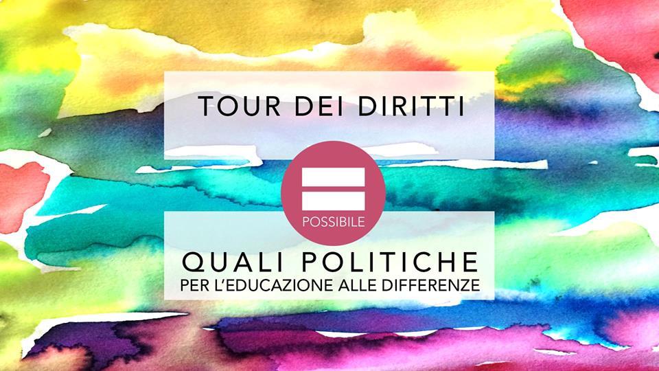 TOUR Dei Diritti – politiche per educazione alle differenze
