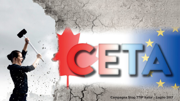 Ratifica CETA il 26 settembre? La parola torni agli enti locali