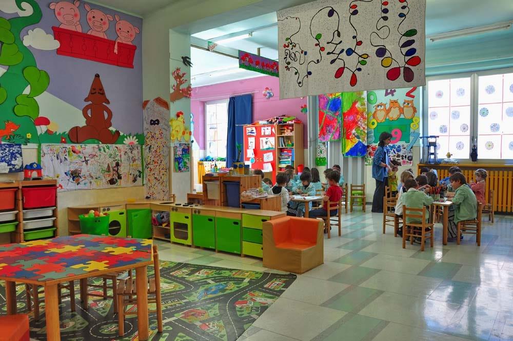 Scuole d'infanzia a pagamento. La giunta trasforma la scuola in servizio.
