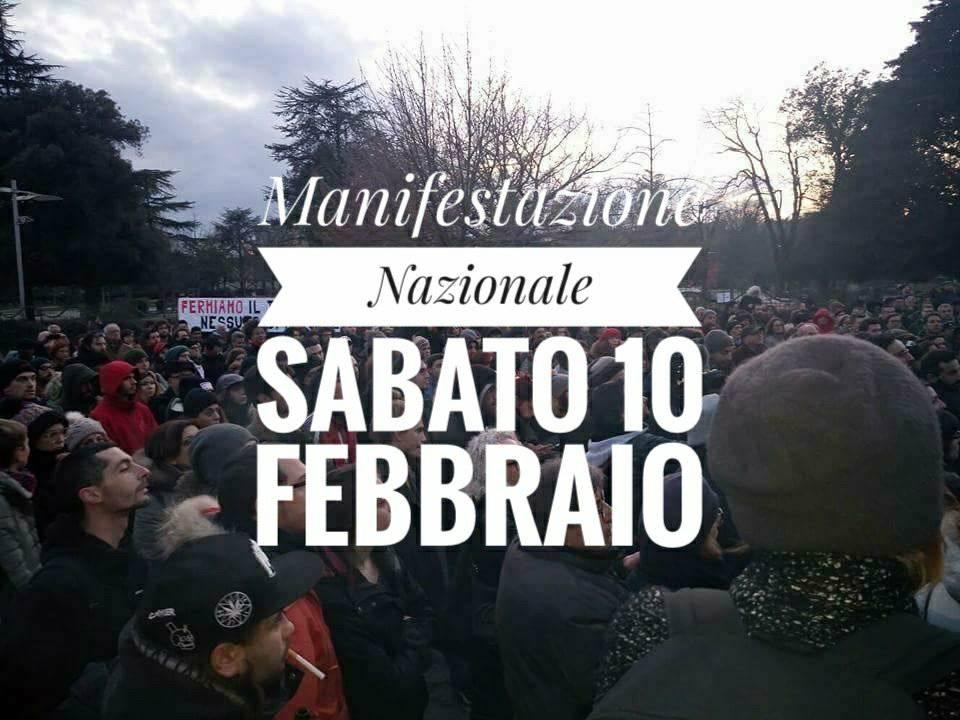 Manifestazione antifascista a Macerata. La nostra adesione e tutte le info per partire da Bologna