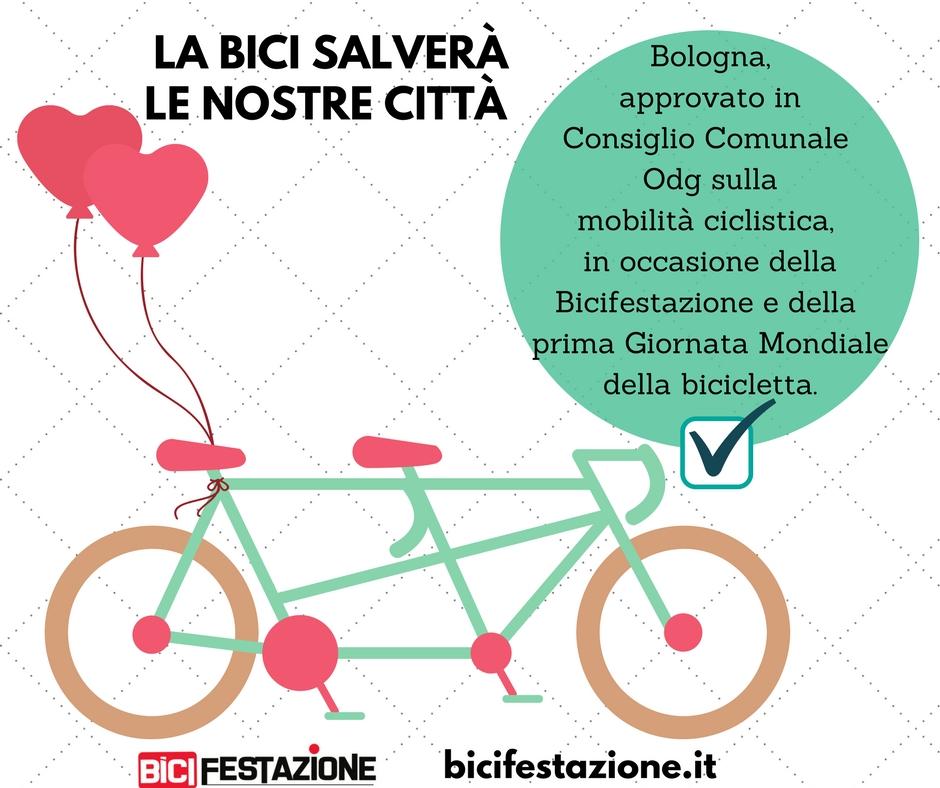 Approvato OdG sulla mobilità ciclistica