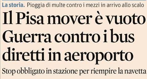 Dal Pisa Mover al BLQ (passando per il People Mover). Storie di amministrazioni impossibili.