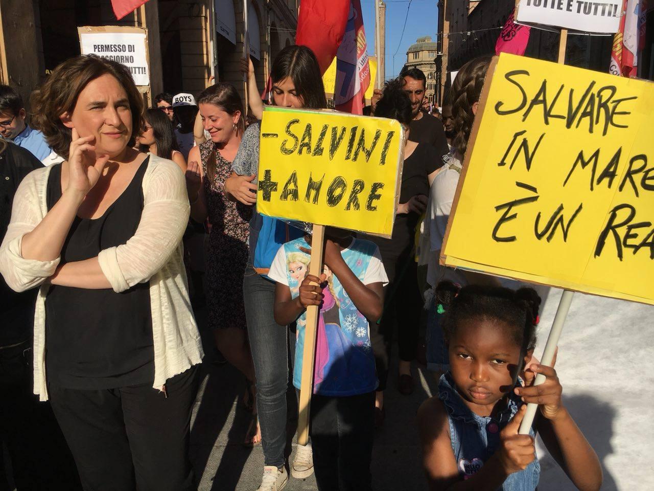 """Ada Colau: """"Spetta alla politica delle città il compito, tanto difficile quanto necessario, di trasformare le paure in speranza"""""""