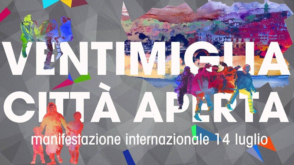 """Adesione a """"Ventimiglia città aperta: manifestazione internazionale #14L"""""""