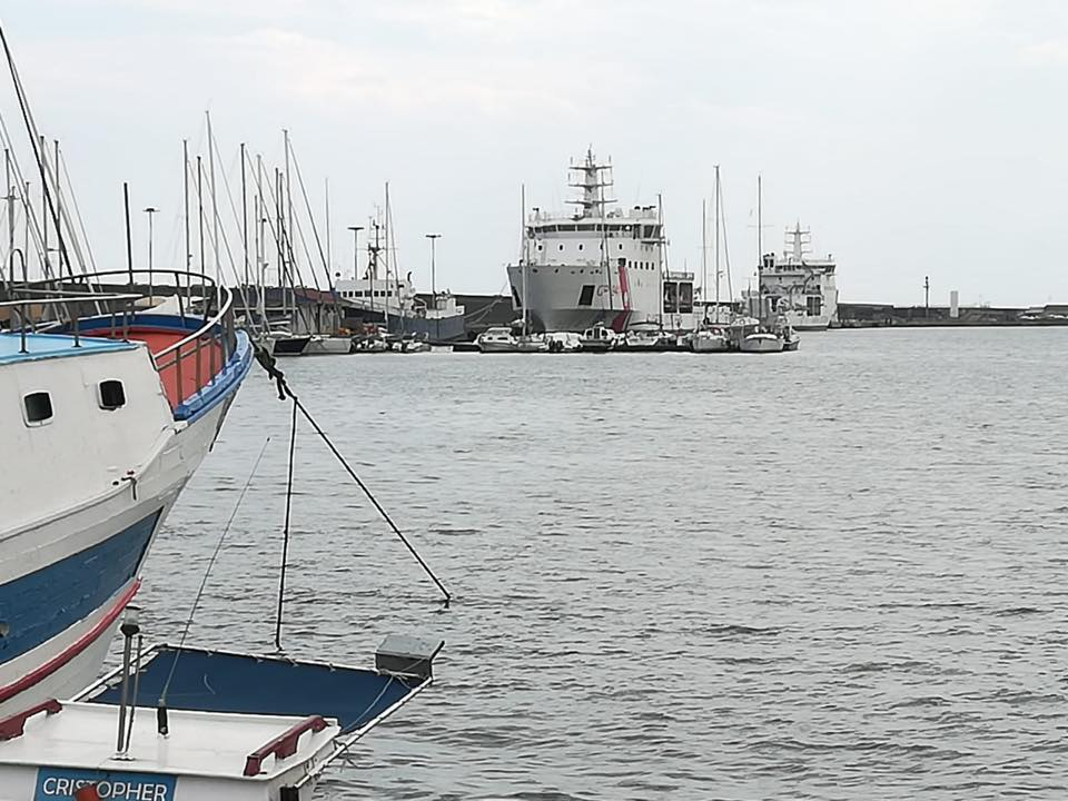 A Catania in solidarietà ai migranti sulla nave Diciotti