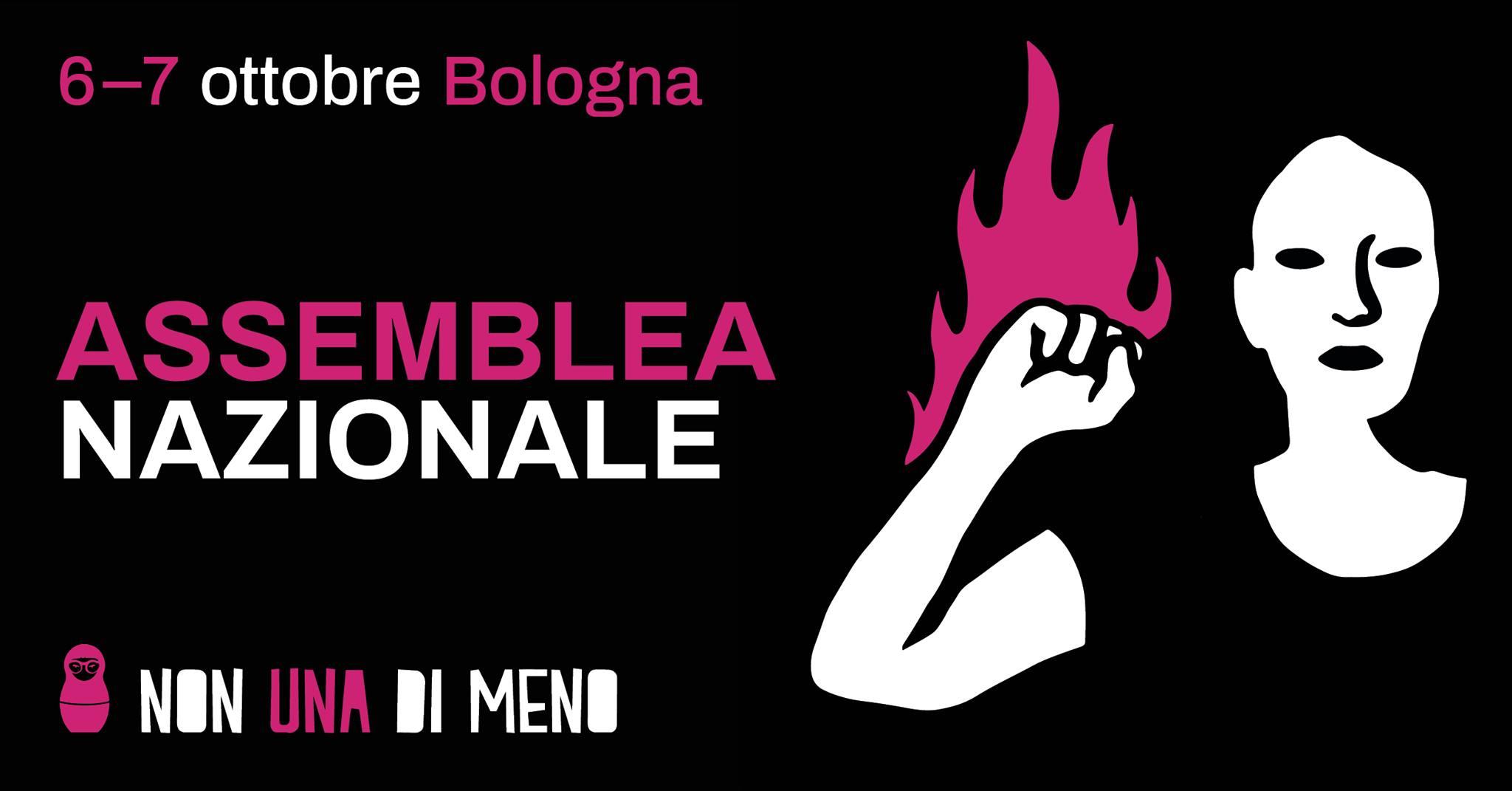 Bologna ospita l'Assemblea nazionale Non Una Di Meno. Appello per un posto letto o un divano