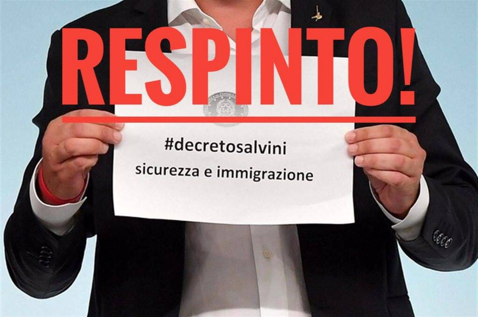 Anche Bologna dice no al decreto Salvini