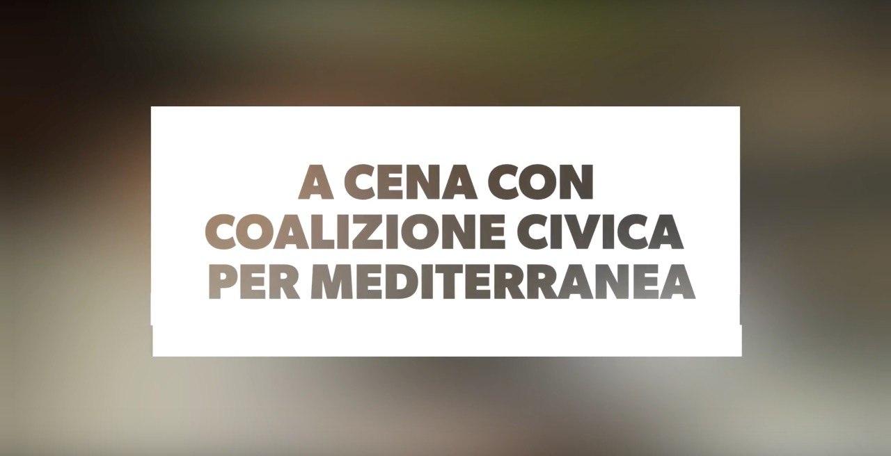 Cena per Mediterranea, raccolte 3.500 euro! Grazie!