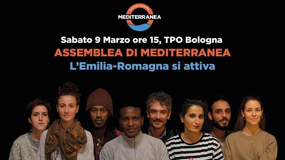 Assemblea di Mediterranea a Bologna