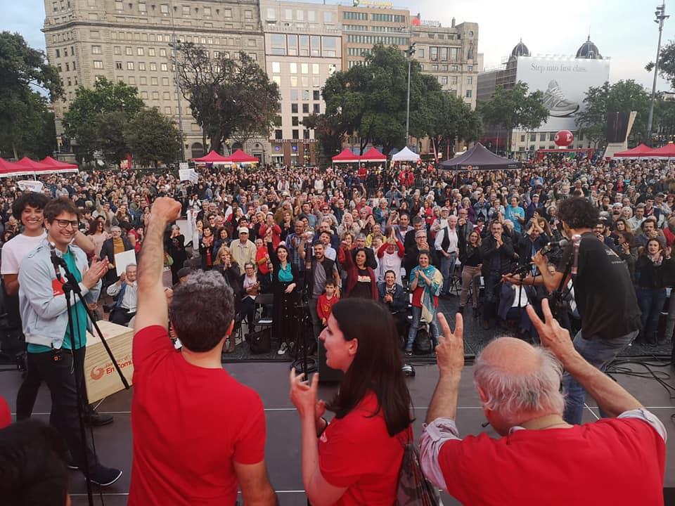 Coalizione Civica Bologna nella BrigAda Internacional a Sostegno di Ada Colau