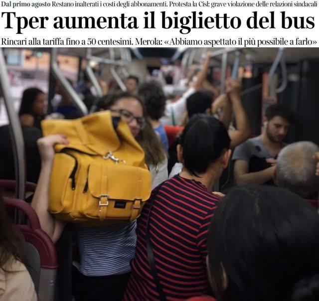 Aumento del biglietto dell'autobus. Inflazione del 30%? Venerdì chiederemo spiegazioni al sindaco