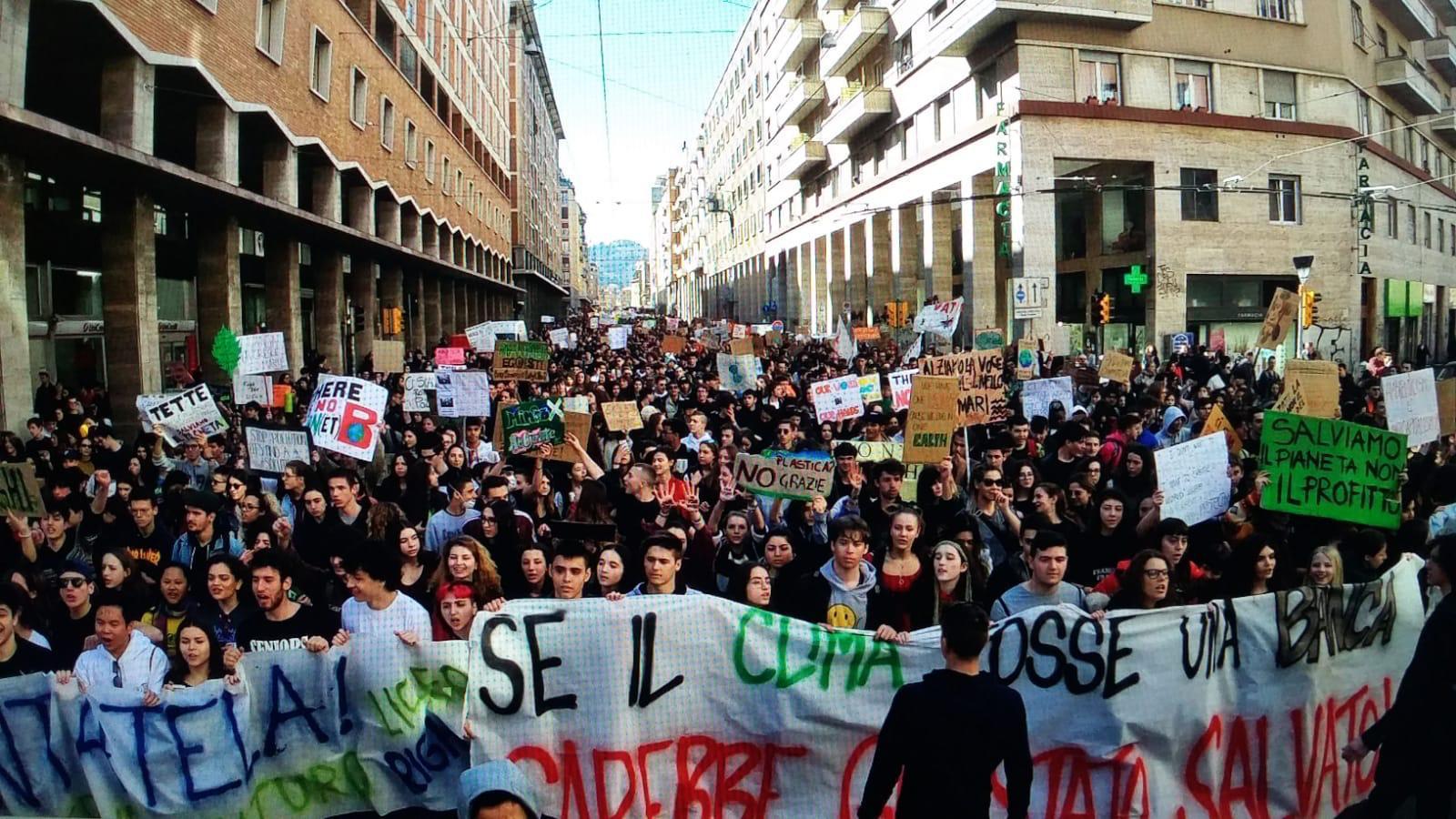Venerdì 27, anche a Bologna, 3° Sciopero Globale per il Clima