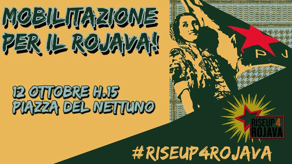 Solidarietà alla popolazione del Rojava. Tutti gli appuntamenti a Bologna
