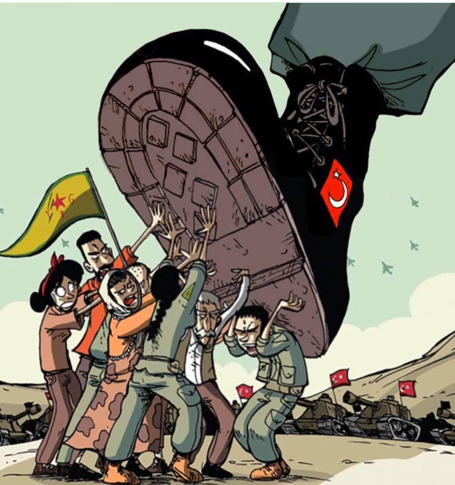 Sosteniamo il Rojava contro l'ignobile invasione voluta da Erdogan. Ecco come fare