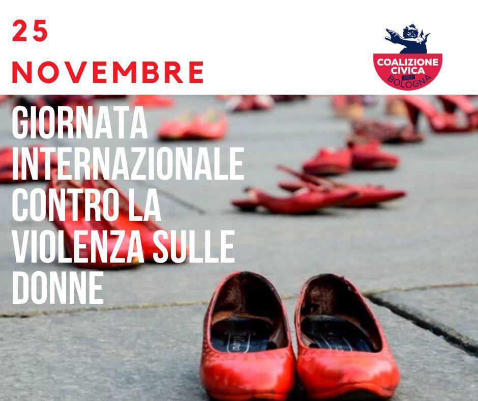 """Oggi 25 Novembre """"Basta violenza maschile di genere sulle donne"""""""