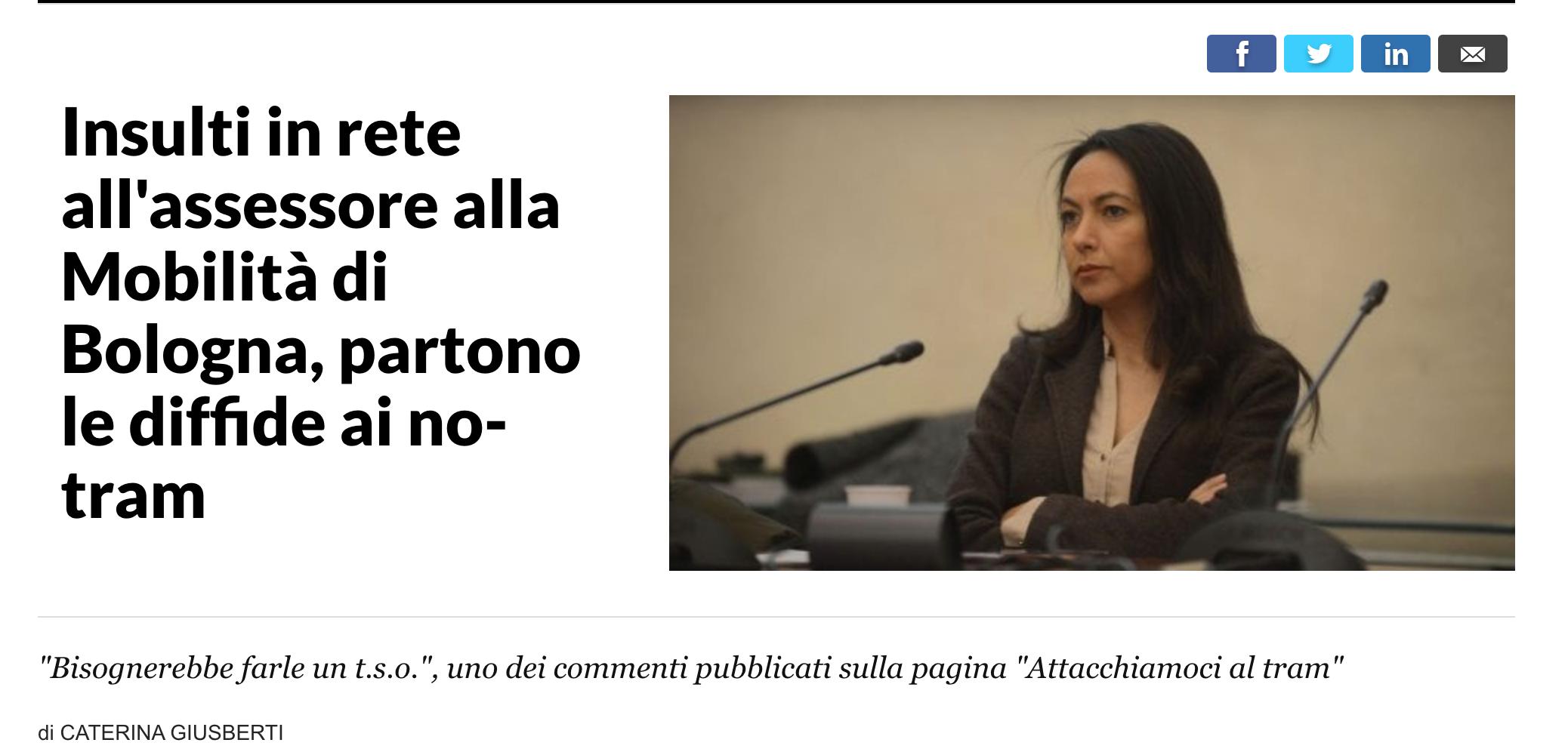Solidali con Irene Priolo