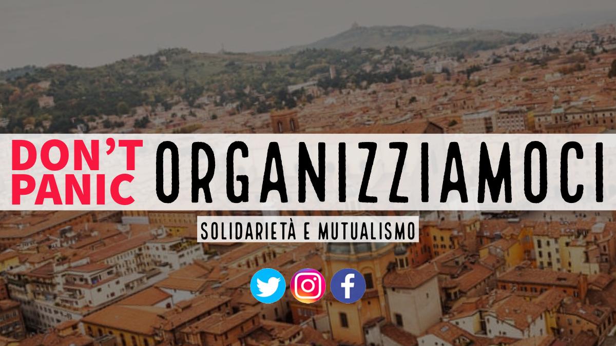 Don't Panic: organizziamo la solidarietà.