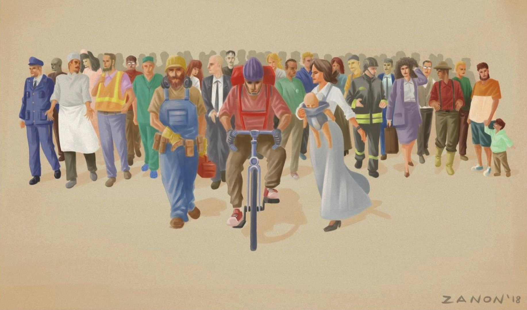 I rider sono titolari di tutti i diritti del lavoro: ora facciamoli rispettare! Verso lo sciopero del 26 Marzo