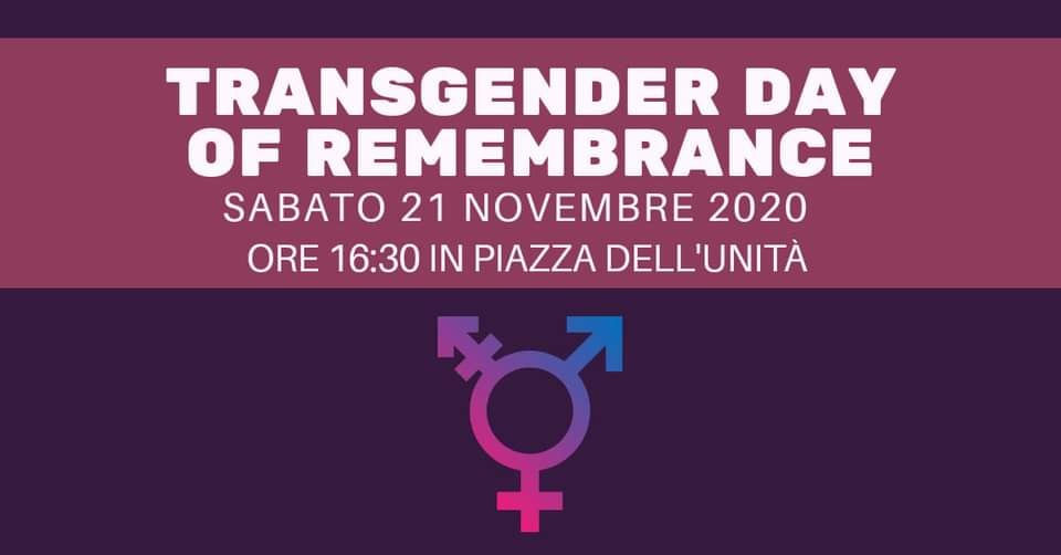 Transgender Day of Remembrance 2020 in piazza a Bologna