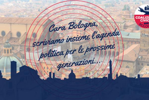 Cara Bologna ti scriviamo