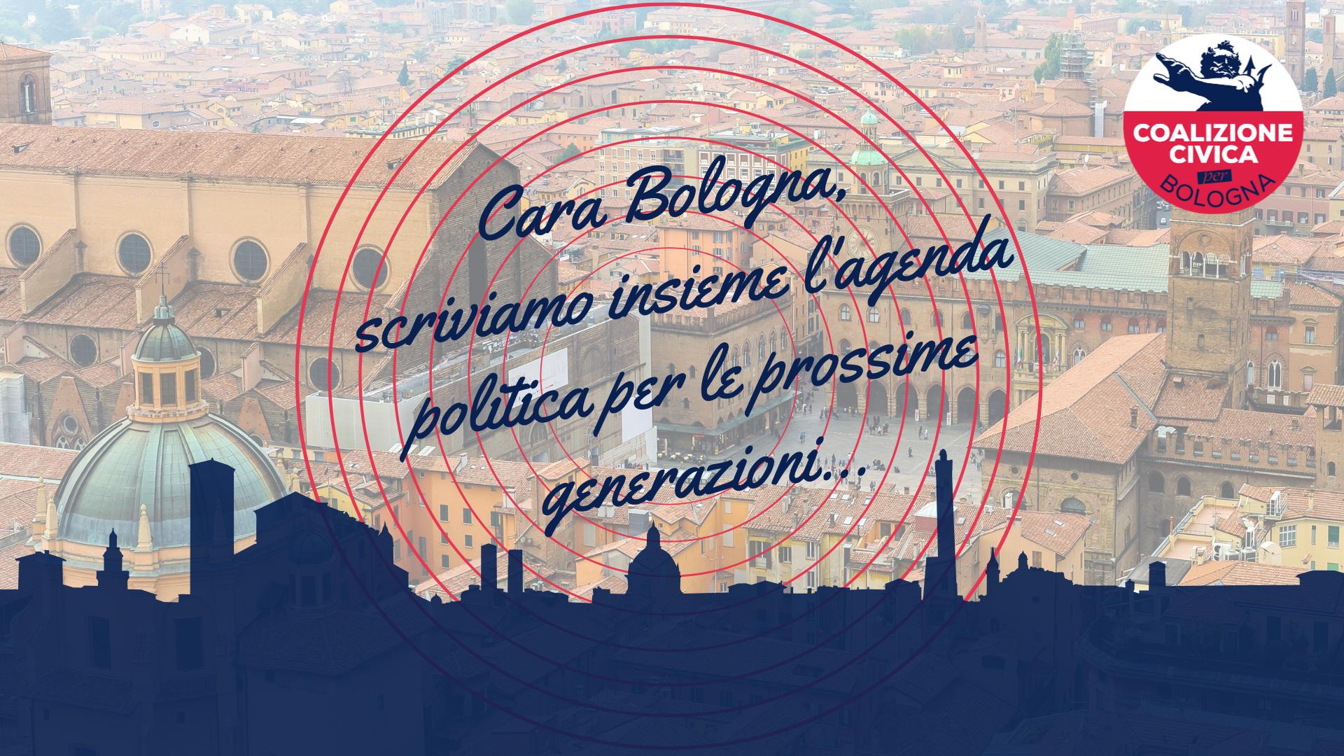 Cara Bologna, scriviamo insieme il programma per il futuro governo della città
