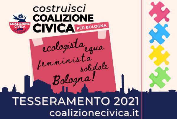 TESSERAMENTO 2021: Costruisci Coalizione Civica con noi