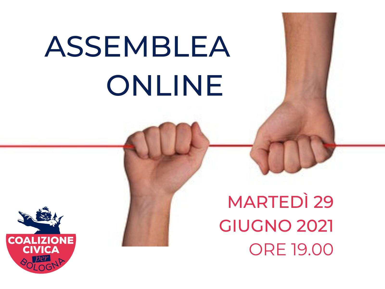 Convocazione assemblea 29 giugno 2021