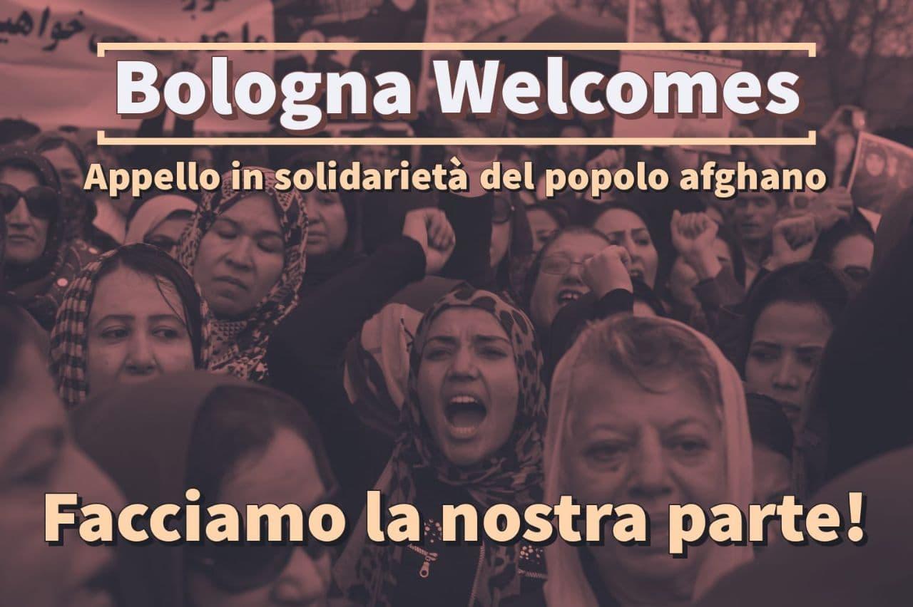Bologna Welcomes: appello in solidarietà del popolo afghano e appuntamento il 27 Agosto