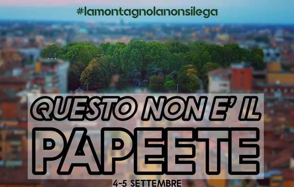 """Partecipiamo a """"Questo NON è il Papeete – Controfestival Montagnola Republic"""""""