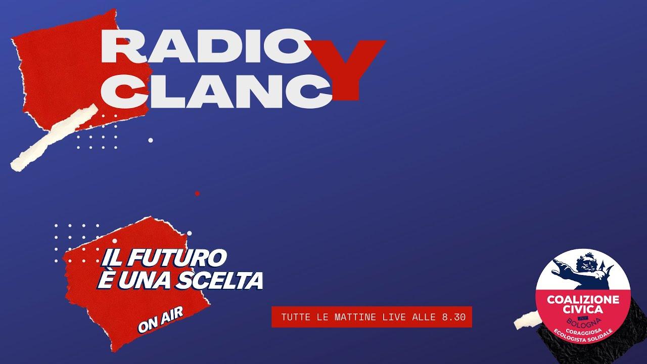 RADIO CLANCY – Puntata 01 con Federico Martelloni e Porpora Marcasciano