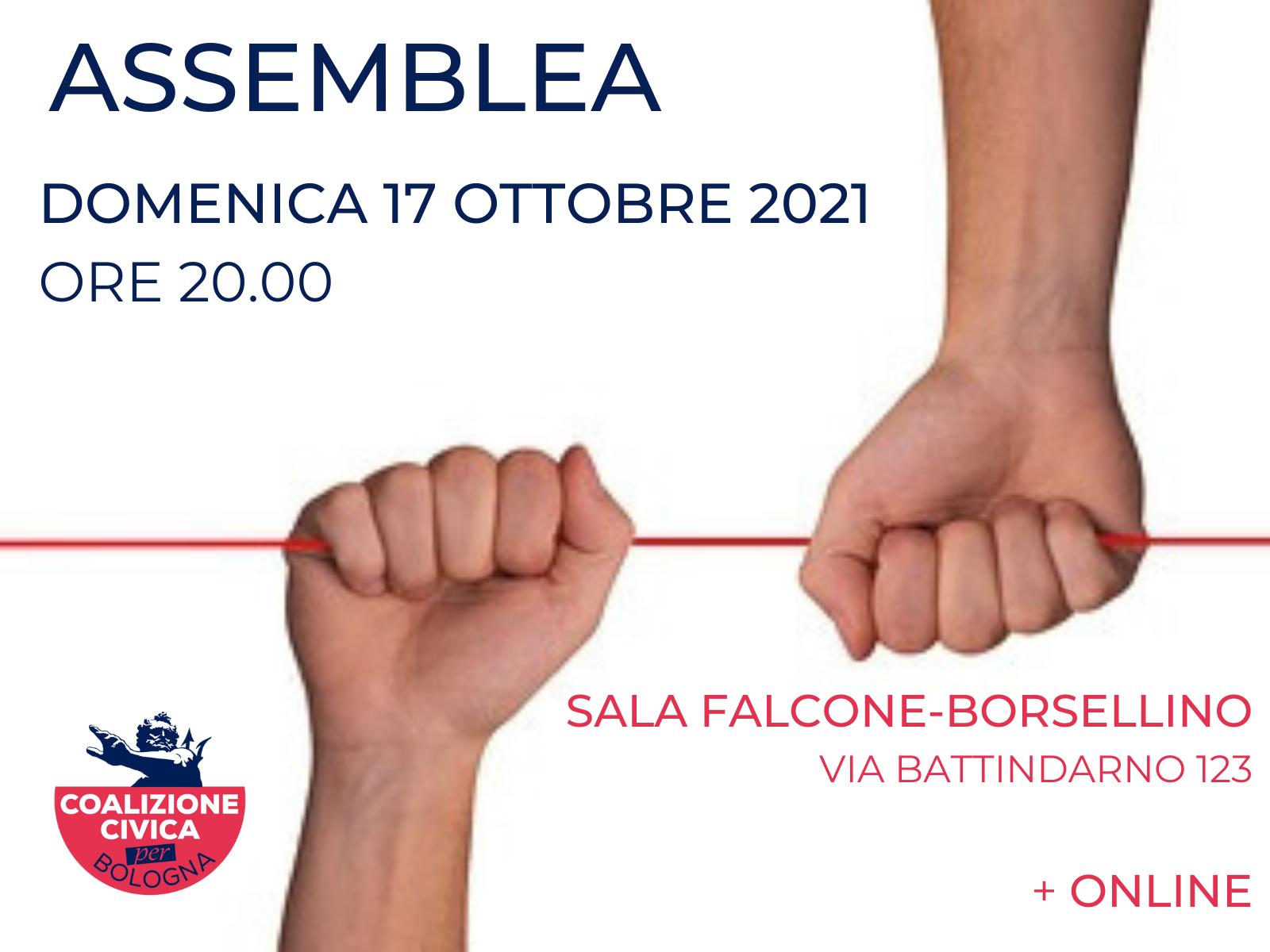 Convocazione assemblea 17 ottobre 2021